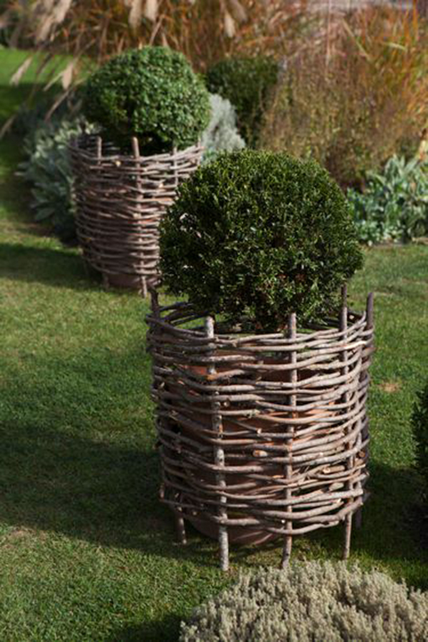 A sample of Kate's beautiful Willow Work. Photo: supplied.
